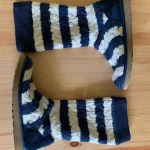 UGG Australia Knitted Boots Women's Size 8